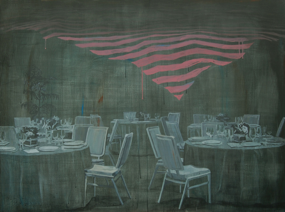 Restaurant, Acrylic on canvas, 130.5×97cm, 2016